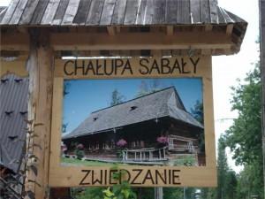 zwiedzanie Chaty Sabały