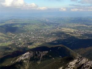 panorama z Giewontu