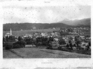 Stare zdjęcie Zakopanego
