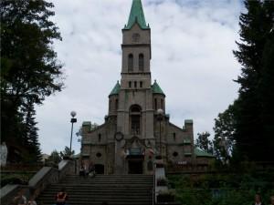 kościół św. Rodziny na Krupówkach