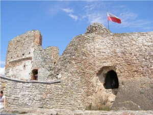 Na zamku w Czorsztynie