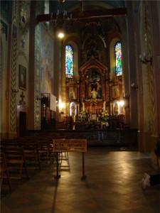 Ołtarz w kościele św. Rodziny na Krupówkach