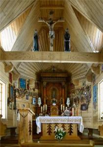 ołtarz Sanktuarium na Wiktorówkach