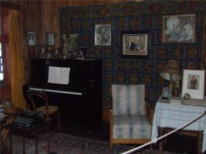 Pianino w gabinecie Szymanowskiego