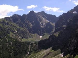 Rysy - najwyższy szczyt górski w Polsce