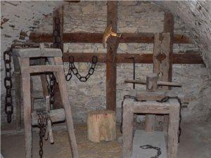 Sala tortur w Niedzicy