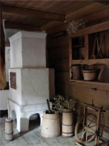 stara kuchnia - Chata Sabały