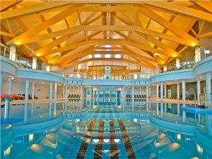Termy Bukowina - basen wewnątrz