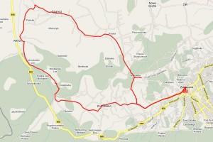 Trasa rowerowa Zakopane - Witów - Dzianisz