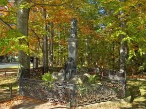 Pomnik - Tytus Chałubiski i Sabała