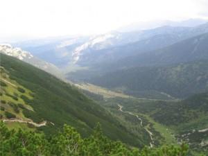 widok na Dolinę Kondratową