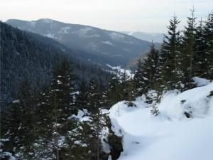 Widok na Dolinę Jaworzynki