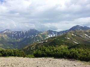 Widoki ze szczytu Grześ
